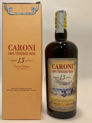 100% Trinidad Rum_aged _15 Years_Extra Strong