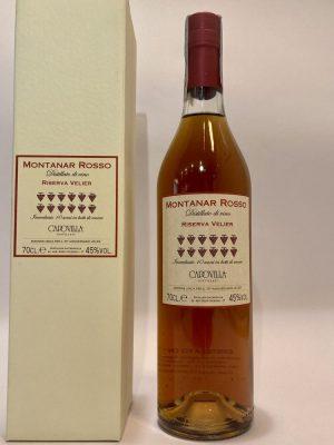 distillato di vino_Capovilla_Montanar Rosso_RISERVA VELIER_70° Anniversario