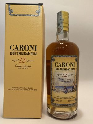 Rum_100% Trinidad Rum_aged 12 Years_Extra Strong_Caroni Distillery