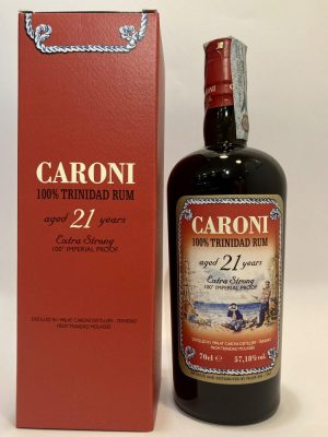 """Caroni Distillery_100% Trinidad Rum,_distilled in 1996_aged 21 Years_Extra Strong_100° Imperial Proof"""""""