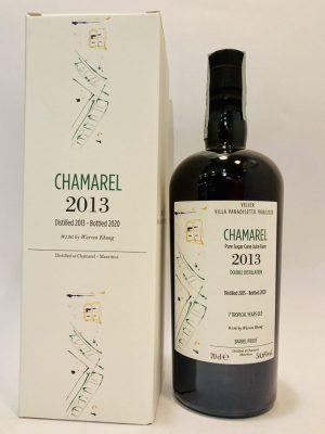 Pure Sugar Cane Juice Rum_Double Distillation_VILLA PARADISETTO_2013_7 Tropical Years Old_Chamarel