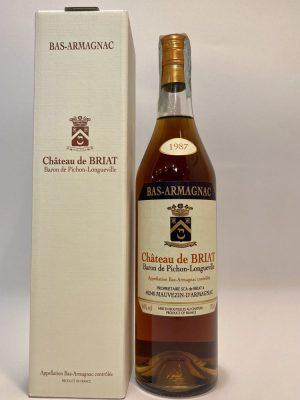 Bas Armagnac_Baron de Pichon_Longueville_1987 _Château de BRIAT