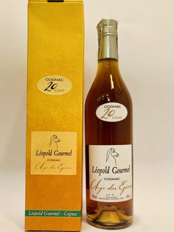 Cognac_AGE DES EPICES_20 CARATS_Léopold Gourmel