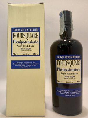 Rum_Single Blended Rum_PLENIPOTENZIARIO_2007_Foursquare