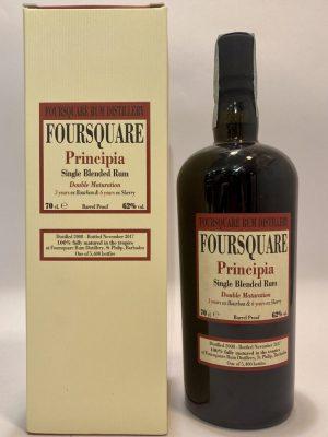 Rum_Single Blended Rum_PRINCIPIA_2008_Double Maturation_Foursquare