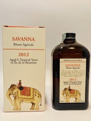 6 Years Old_Indian Ocean_Rhum Agricole_SAVANNA 2012