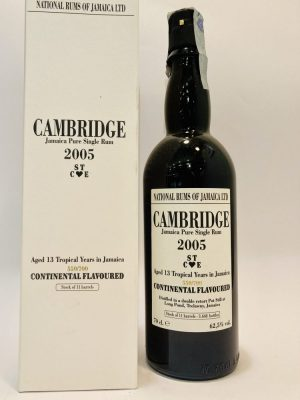 Jamaica Pure Single Rum_CAMBRIDGE_STCE_20013_YO_Continental Flavoured_550/700_Long Pond