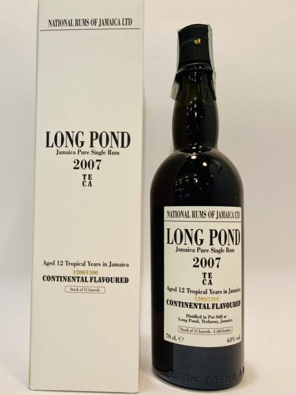 Jamaica_Pure Single Rum_TECA_2007_12 YO_Continental Flavoured_1200/1300_Long Pond