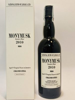 Jamaica Rum_Aged_9 Tropical Years_MBS_2010_Monymusk