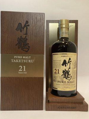 Pure Malt_TAKETSURU_21 Years Old _nikka Whisky