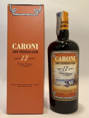Rum_100% Trinidad Rum_aged 17 Years_Extra Strong_Caroni Distillery