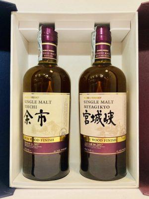 Whisky_Single_Malt_YOICHI_MIYAGIKYO_Rum_Wood_Finish_Bottled in 2017_Nikka Whisky