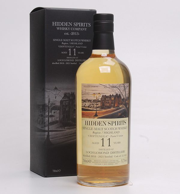 Hidden Spirits_Single Malt_Scotch_Whisky_HIGHLAND_LOCH LOMOND DISTILLERY_CROFTENGEA_Peated Version_2010_Aged 11 Years